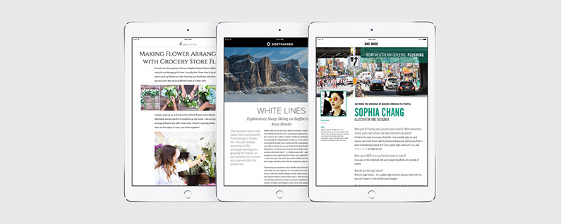 Swipe Left to Read More Stories in News App