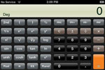iPhone calculator landscape mode