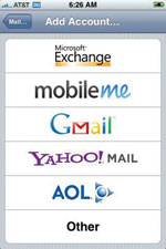 Exchange Screenshot