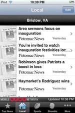 MobileNews network