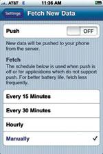 Fetch New Data