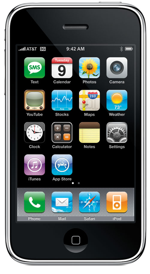 iPhone 3G Home Screen