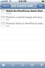 Getting started with OmniFocus
