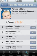 Parents magazine Podcasts