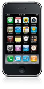 iPhone 3Gs Front view
