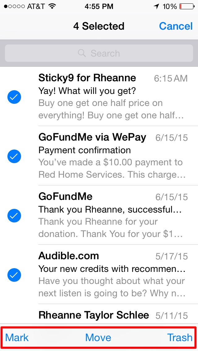 how to get junk mail to go to inbox
