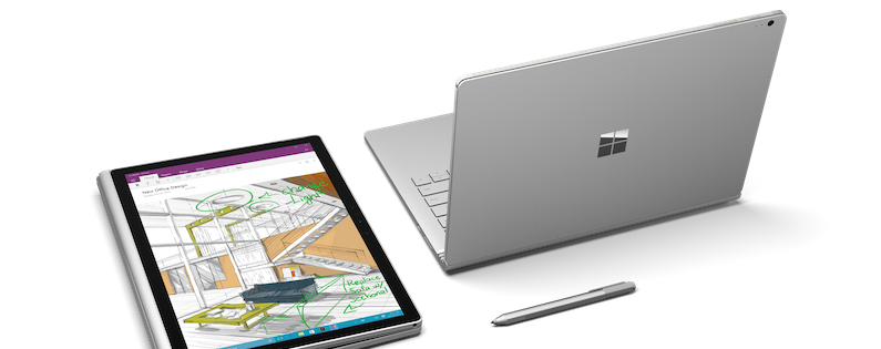 microsoft claims surface book is twice as fast as macbook pro. Black Bedroom Furniture Sets. Home Design Ideas