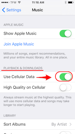 How to Adjust Music Streaming Quality on Your iPhone | iPhoneLife com