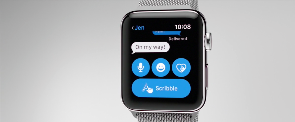 Image Result For How To Scribble Your Replies To Messages In Watchos
