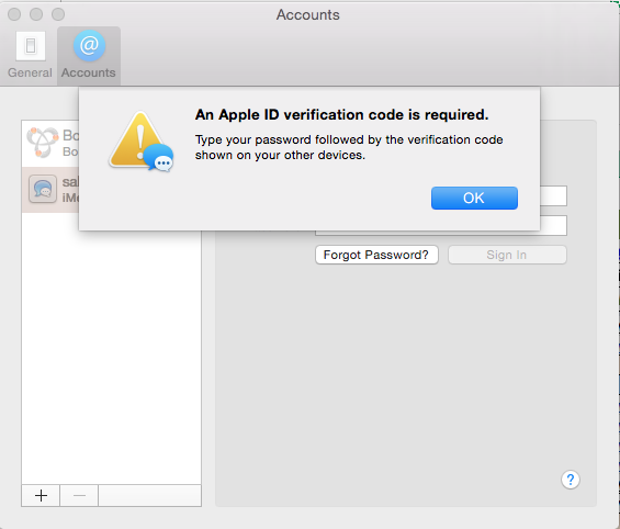 two factor authentication apple
