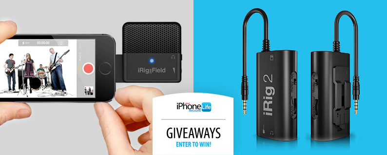 iPhone Life giveaway iRig