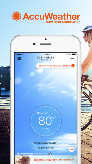 Top 5 Free Weather Apps for iPhone | iPhoneLife com