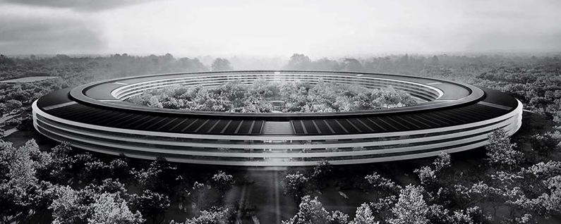 Surprisingly, the New Apple Building Is Not the First Spaceship Campus out There