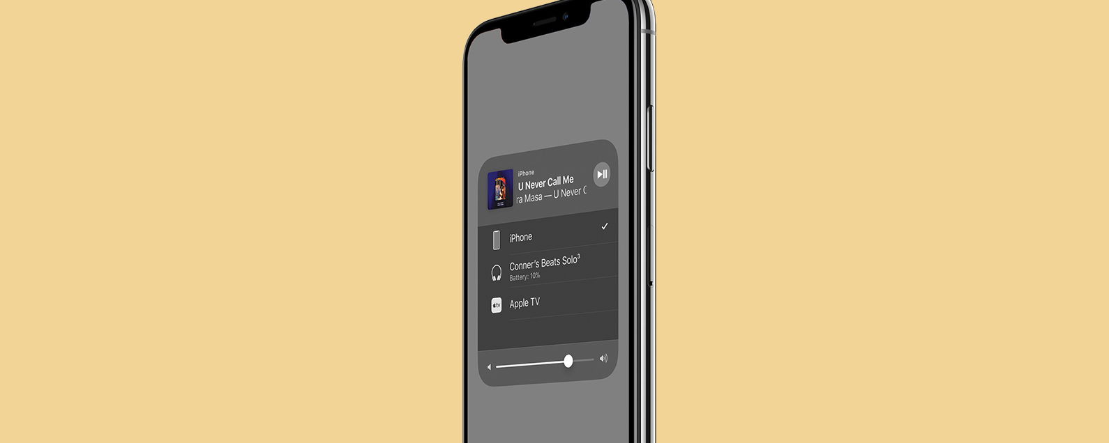 How to Switch between Bluetooth Devices in Control Center