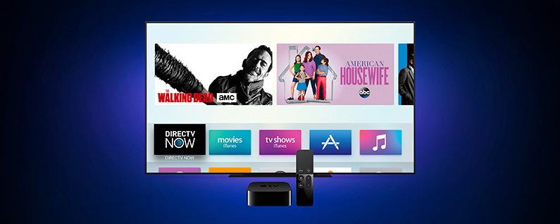 how to get live tv on apple tv