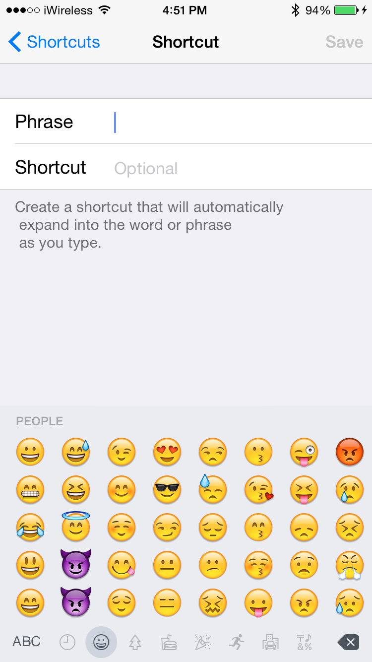 How to use emoji shortcuts instead of switching keyboards now every time you type this word the emoji character will automatically be substituted buycottarizona Images