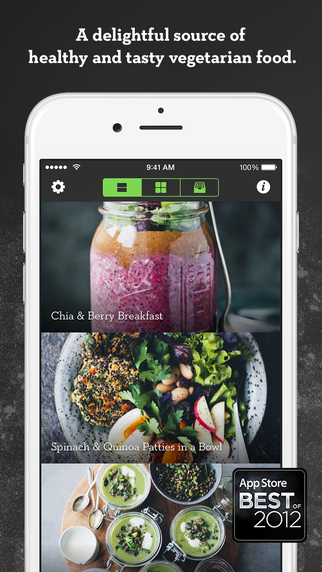 Best vegan recipe apps iphonelife green kitchen healthy vegetarian recipes 499 forumfinder Gallery