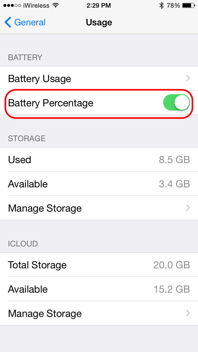 show battery percentage iphone 5 how to show battery percentage on iphone 5 the kev 5879