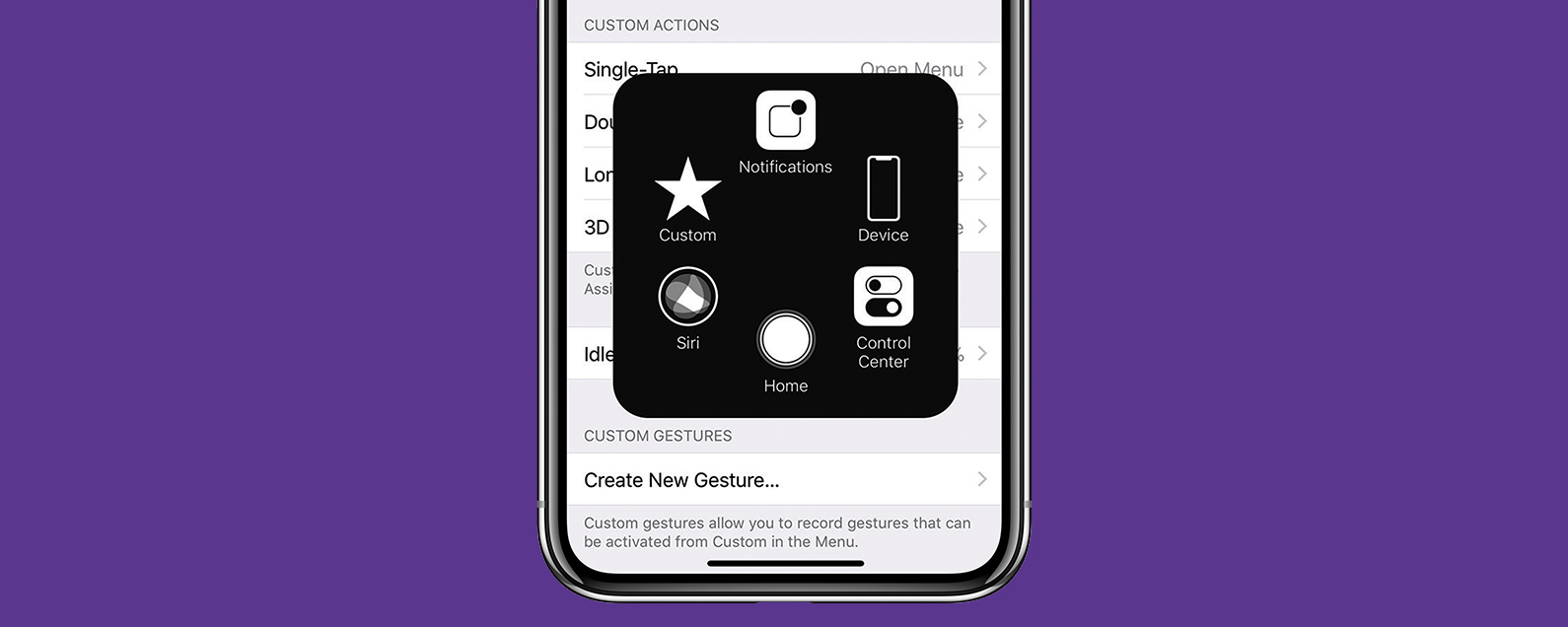 iphone home screen button how to add an on screen home button to your iphone x 15299
