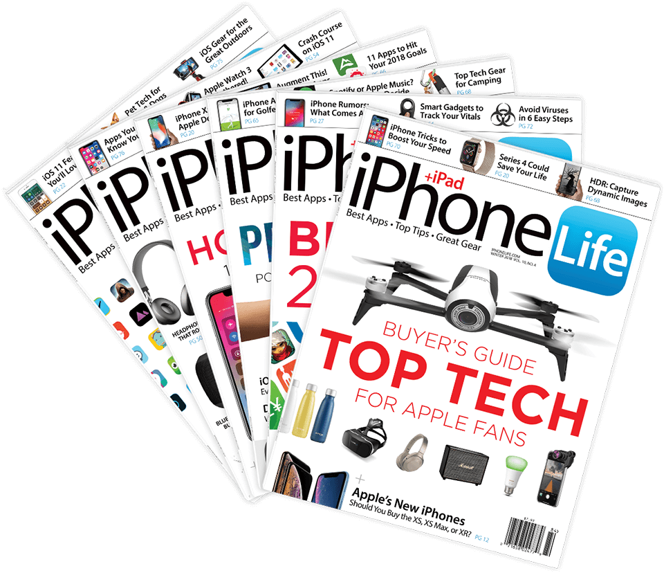 iPhone Life magazine Archive Library