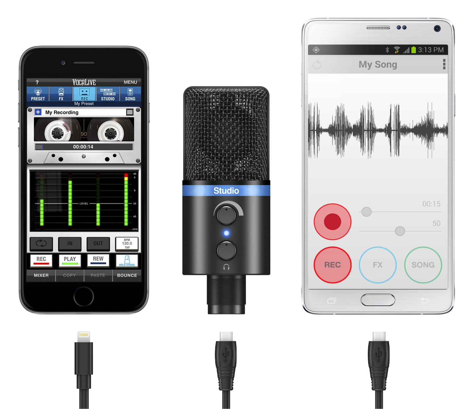 Usb Microphone In Android : review can the irig mic studio capture professional quality audio ~ Hamham.info Haus und Dekorationen