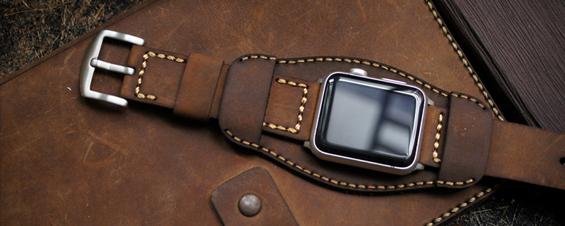 4 beautiful leather apple watch bands iphonelifecom