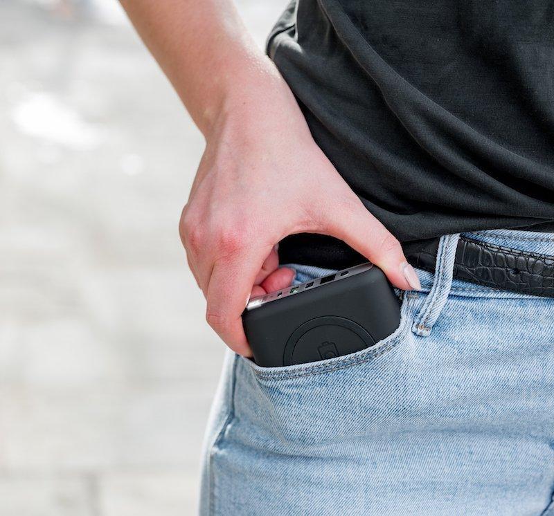 Pandora Portable Power in Pocket