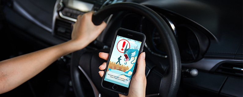 Updated Pokémon Go App Now Warns Drivers not to Play