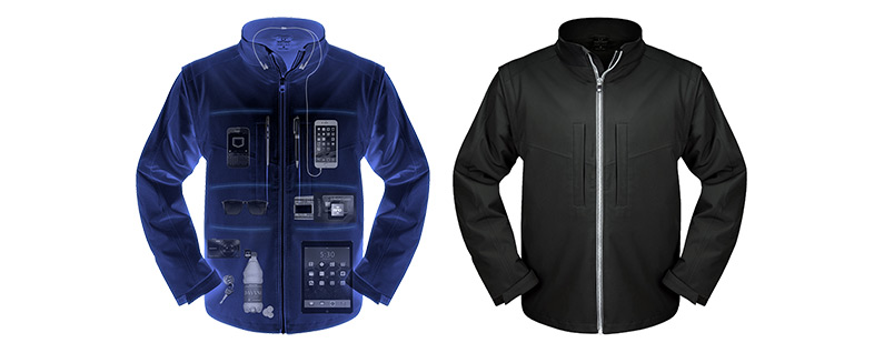 Travel Jacket with Hidden Pockets for All Your Tech Gear