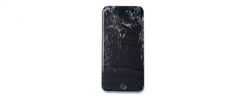 my apple phone screen cracked and is blackinstmanksgolkes