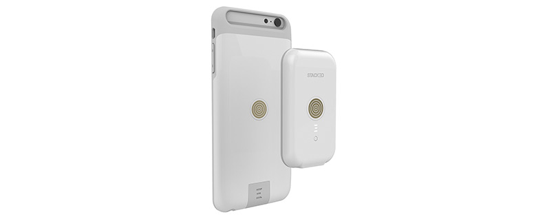 Stacked iPhone 6s Wireless Charging Case
