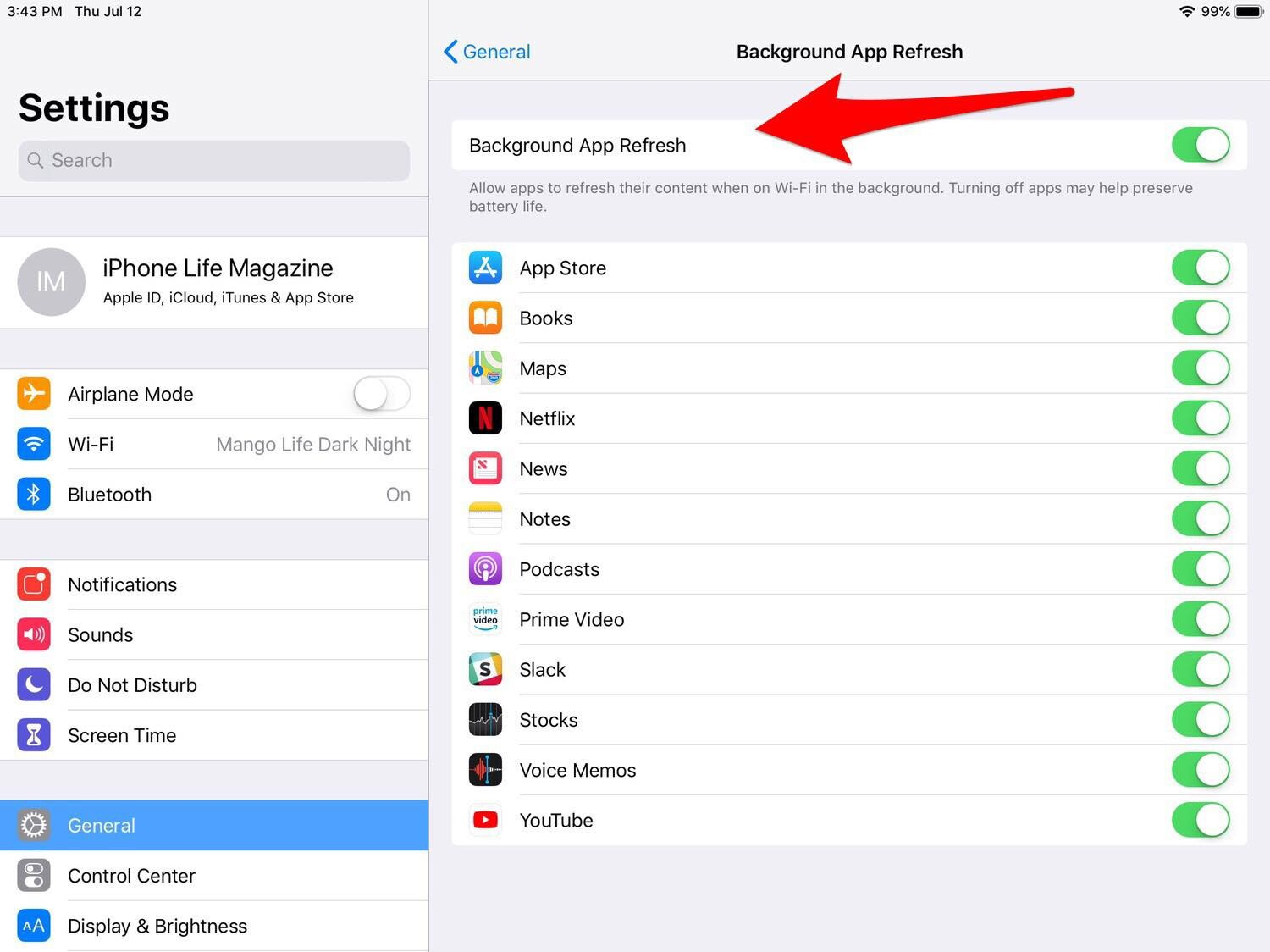 how to make ipad faster