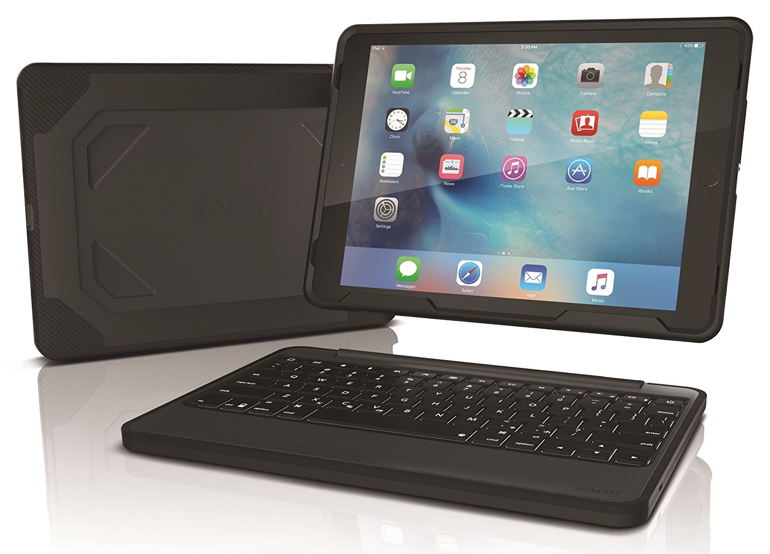 Zagg S Rugged Book Ipad Keyboard Case Lives Up To Its Name