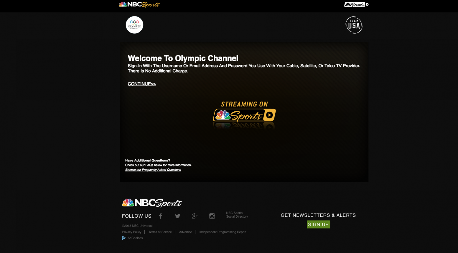 olympic schedule tv