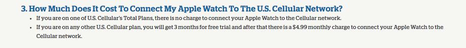 apple watch carrier