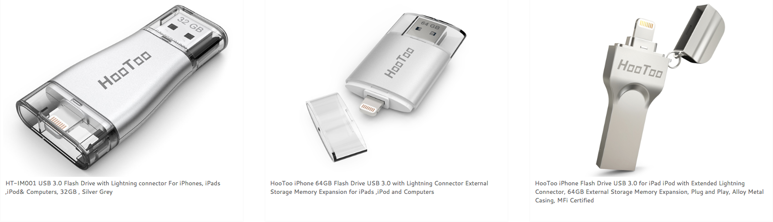 how to use hootoo flash drive for iphone