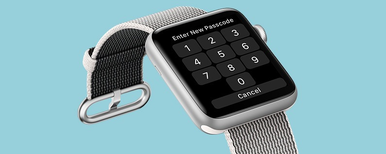 how to change password on apple watch