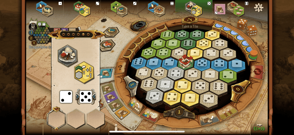 Castles of Burgundy Main Game