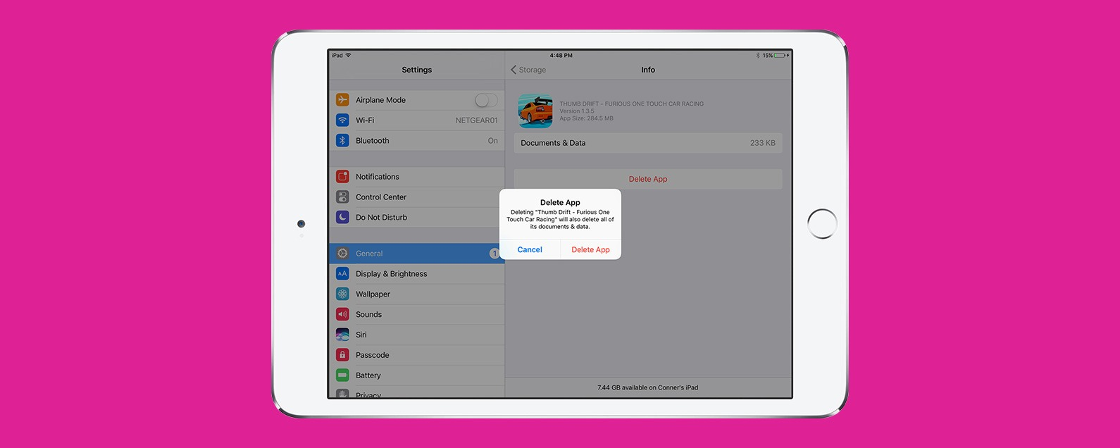 Delete remove uninstall how to get rid of apps on ipad deleting uninstalling offloading removing whatever you call it getting rid of unused and unwanted apps on your ipad can be done the same way as on your ccuart Image collections