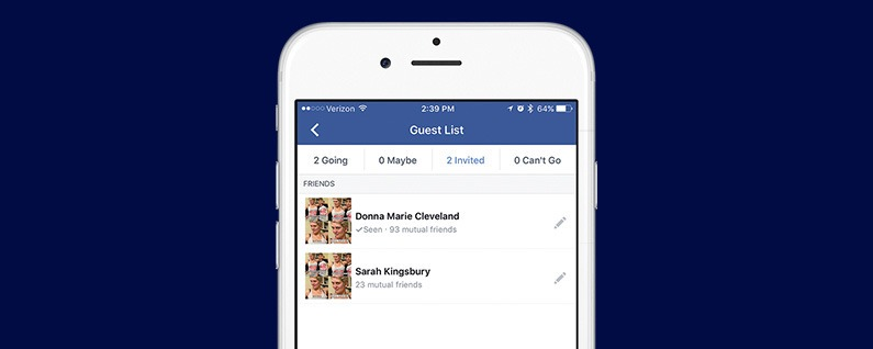 How to Tell Whether or Not Someone Has Seen Your Facebook Invitation