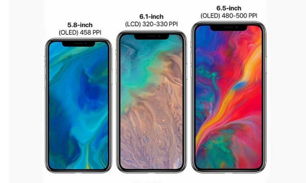 three new iphones
