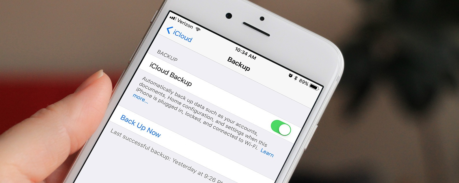 how to back up your iphone to icloud iphonelife com