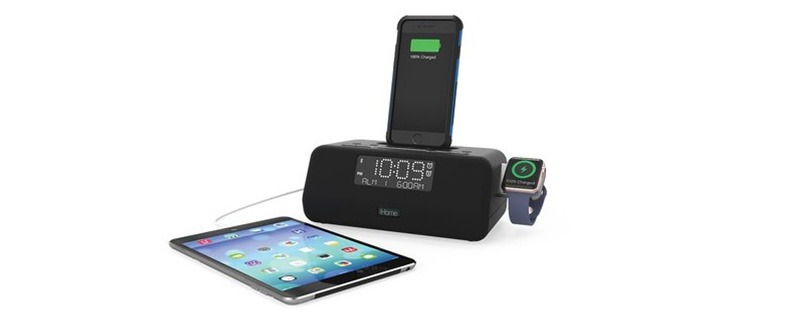 iHome's Clock Radio Doubles as a Dual iPhone and Apple Watch Charging Dock