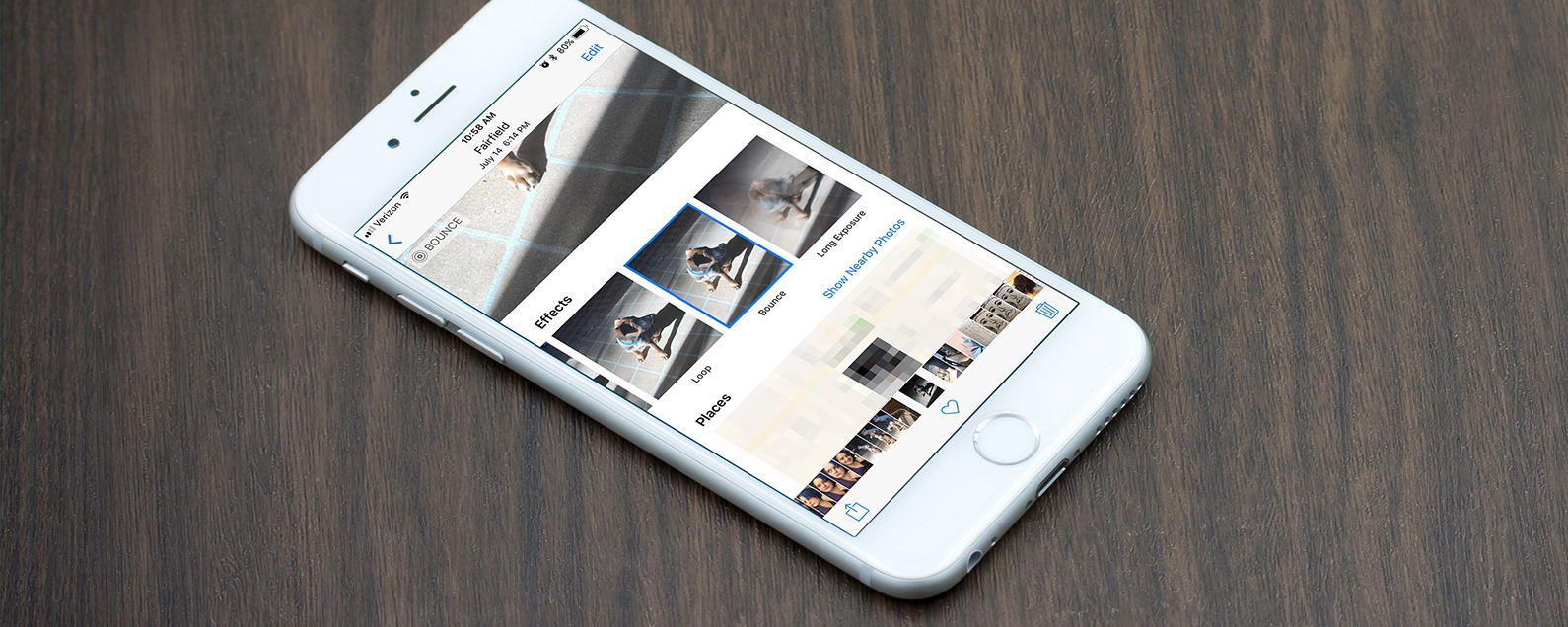 how to make a video loop on iphone