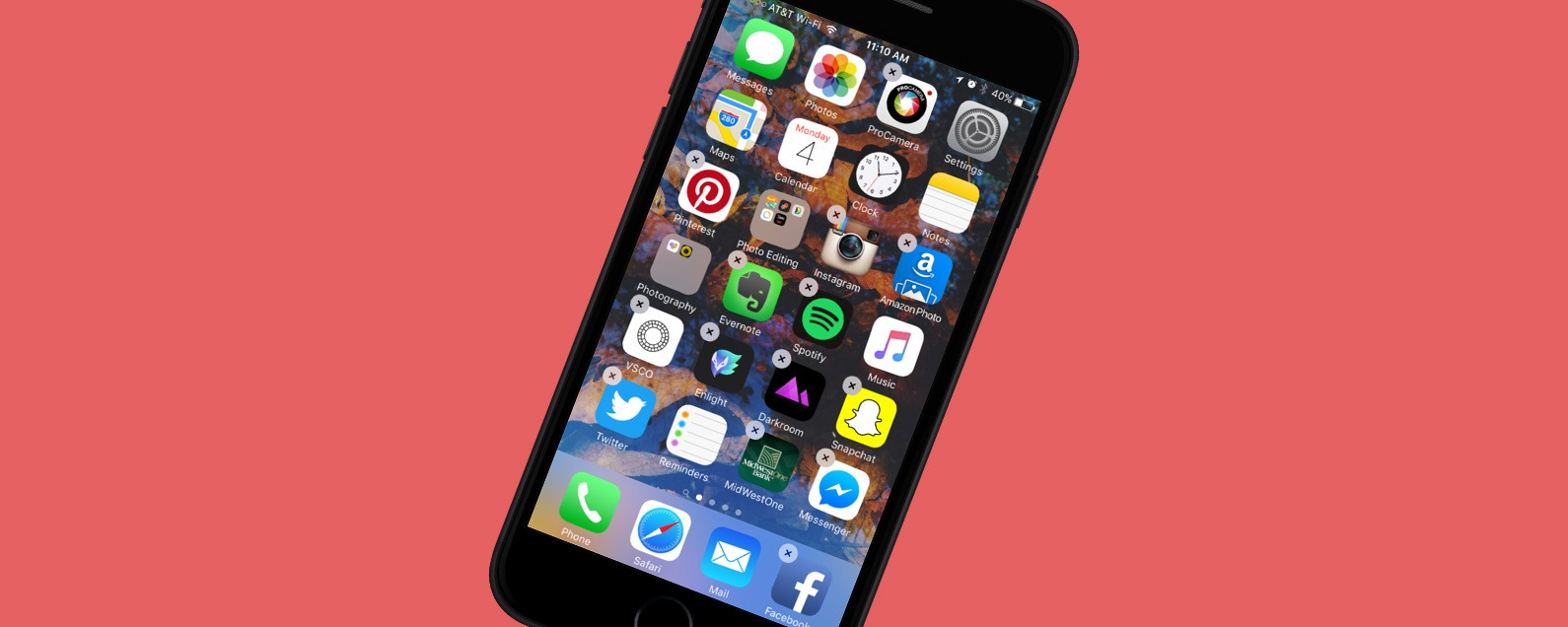 The Iphone S Dock Some People Refer To It As Menu Bar Or Home Screen Bottom Provides A Means Access Your Most Frequently Used From Any
