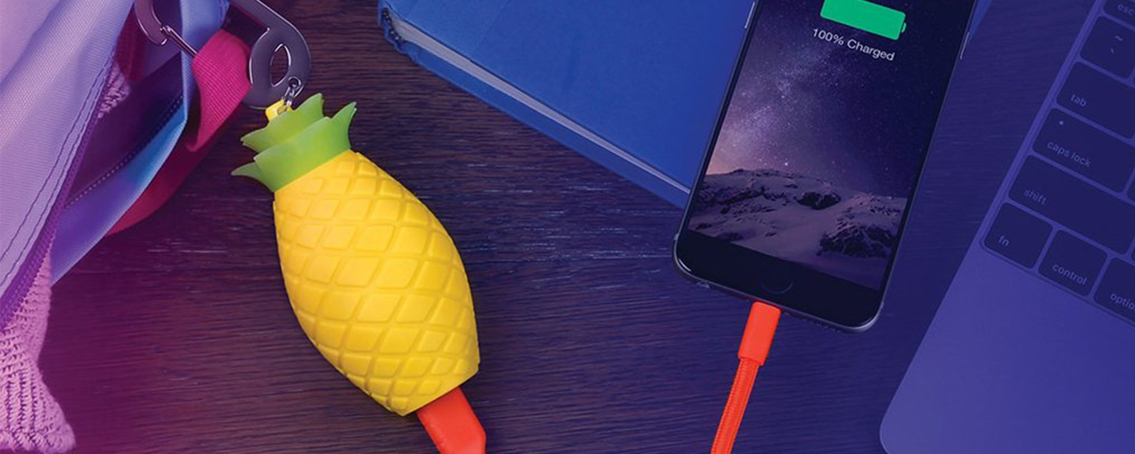 This Pineapple-Shaped Power Bank Adds a Touch of Whimsy to Portable ... 49a9916cbd7d