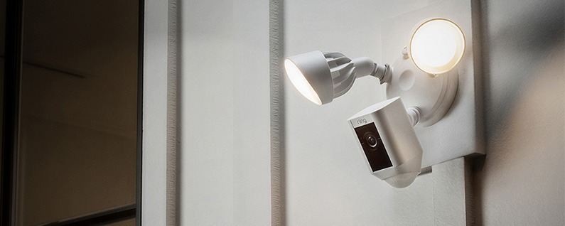 Ring Debuts Smart Home Security Camera with Floodlights