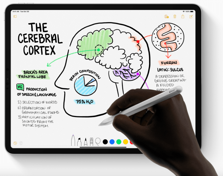new apple pencil with new ipad