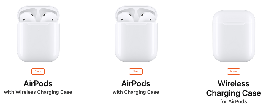 new airpods options