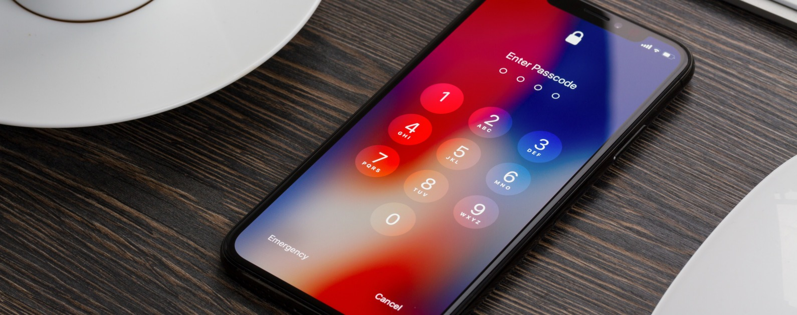 unlock iphone with security code